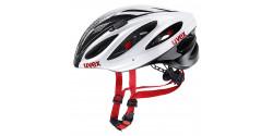 Kask rowerowy Uvex Boss Race  8 white-black (biało-czarny)