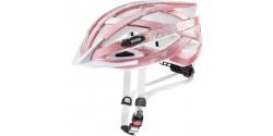 Kask rowerowy Uvex Air wing 18 rose white (różowo biały)