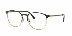 Ray-Ban RB 6375 2890  GOLD TOP IN BLACK