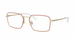Ray-Ban RB 6440 3052  MATT RED ON RUBBER GOLD