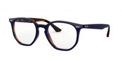 Ray-Ban RB 7151 5910  TOP BLUE ON HAVANA RED