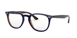 Ray-Ban RB 7159 5910  TOP BLUE ON HAVANA RED