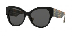 Burberry B 4294 375787  BLACK grey
