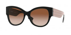 Burberry B 4294 382013  BLACK brown gradient