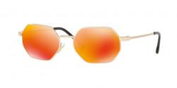 Versace VE 2194 12526Q  PALE GOLD brown mirror orange