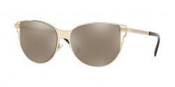 Versace VE 2211  12525A  PALE GOLD  light brown mirror dark gold