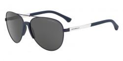 Emporio Armani EA 2059 320287  MATTE BLUE  grey