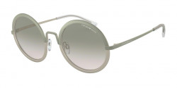 Emporio Armani EA 2077 32692C  MT MILITARY GREEN/MT LT BRONZE light brown grad light grey