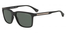 Emporio Armani EA 4047 575871  BLACK RUBBER green