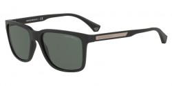 Emporio Armani EA 4047 575871  BLACK RUBBER green