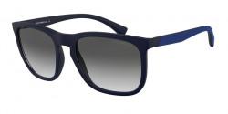 Emporio Armani EA 4132   575411  MATTE BLUE grey gradient