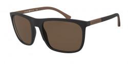 Emporio Armani EA 4133   504273  BLACK RUBBER brown