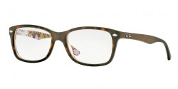 Ray-Ban RB 5228 5409  TOP MAT HAVANA SU TEX CAMUFLAG