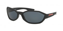 Prada PS 04 US ACTIVE 1BO5Z1  MATTE BLACK polar grey
