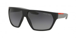 Prada PS 08 US ACTIVE 4535W1  BLACK RUBBER polar grey gradient