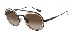 Giorgio Armani AR 6085 300113     MATTE BLACK/BRONZE brown gradient