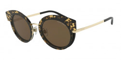 Giorgio Armani AR 6091 301373  PALE GOLD/TOP HAVANA BLACK brown