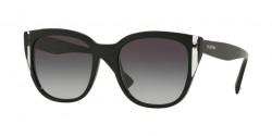 Valentino  VA 4040 50018G  BLACK/CRYSTAL/BLACK grey gradient