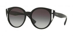 Valentino  VA 4038 50018G  BLACK/CRYSTAL/BLACK grey gradient