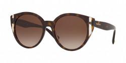 Valentino  VA 4038 500213 HAVANA/CRYSTAL brown gradient
