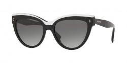 Valentino  VA 4034 513111  BLACK/CRYSTAL grey gradient