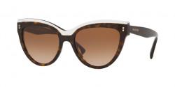 Valentino  VA 4034 513713  HAVANA/CRYSTAL brown gradient