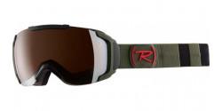 Gogle Rossignol RKHG203 MAVERICK SONAR MILITARY GREEN silver mirror S2