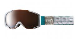 Gogle Rossignol RKHG401 AIRIS SONAR WHITE silver mirror S2