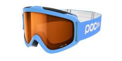 Gogle POC  JUNIOR 40063 POCITO IRIS 8233 FLUORESCENT BLUE sonar orange