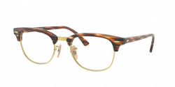 Ray-Ban RB 5154 CLUBMASTER 5751  BROWN/BEIGE STRIPPED