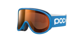 Gogle POC 40064 POCITO RETINA 8233 FLUORESCENT BLUE sonar orange