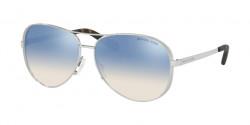 Michael Kors MK 5004 CHELSEA 1153V6  SILVER blue silver gradient mirror