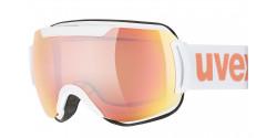 Gogle Uvex Downhill 2000 CV 55/0/117/1030 WHITE mirror rose colorvision orange S2