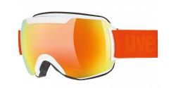 Gogle Uvex Downhill 2000 CV 55/0/117/1130 WHITE mirror orange colorvision green S2