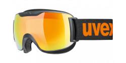 Gogle Uvex Downhill 2000 S CV 55/0/447/2530 BLACK MAT orange colorvision yellow
