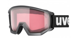 Gogle Uvex Athletic V 55/0/525/2030  BLACK MAT variomatic pink/clear