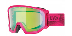 Gogle Uvex Athletic CV 55/0/527/9030 PINK MAT mirror green/colorvision orange S2
