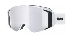 Gogle Uvex G.GL 3000 TO 55/1/331/1030 WHITE MAT lasergold lite / clear & mirror silver