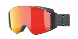 Gogle Uvex G.GL 3000 TO 55/1/331/2030 BLACK MAT lasergold lite/clear & mirror red