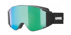 Gogle Uvex G.GL 3000 TO 55/1/331/2230 BLACK MAT clear/clear & mirror green