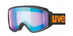 Gogle Uvex G.GL 3000 CV 55/1/333/2130 BLACK MAT ORANGEmirror blue/colorvision orange