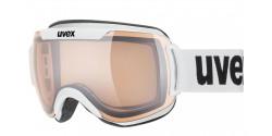 Gogle Uvex Downhill 2000 V 55/0/123/1030 WHITE mirror silver variomatic/clear