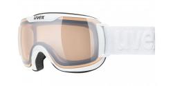 Gogle Uvex Downhill 2000 S V 55/0/448/1030 WHITE  mirror silver variomatic/clear