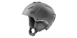 Kask narciarski Uvex P1us 2.0 56/6/211/20 BLACK MET MAT