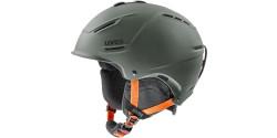 Kask narciarski Uvex P1us 2.0 56/6/211/61 OLIVE MAT