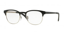 Ray-Ban RB 6317 2832  TOP BLACK ON MATTE SILVER