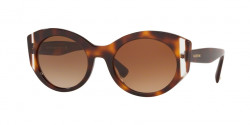 Valentino  VA 4039 501113  HAVANA/CRYSTAL  gradient brown