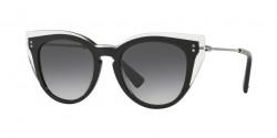 Valentino  VA 4051 50688G  CRYSTAL/BLACK gradient black