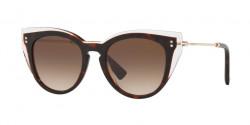 Valentino  VA 4051 508713  CRYSTAL/HAVANA  gradient brown
