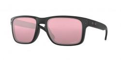 Oakley OO 9102 HOLBROOK  910236 MATTE BLACK + red iridium